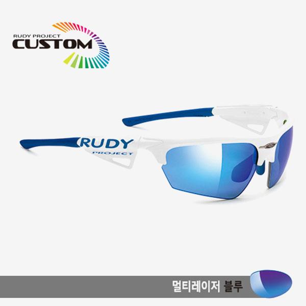 루디프로젝트 RUDY PROJECT/노이즈 커스텀 블랙 레이싱 프로 블루팁/멀티레이저 블루/SP043942BU/NOYZ MULTI LASER BLUE
