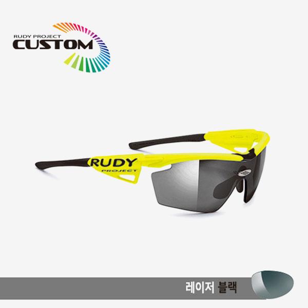 루디프로젝트 RUDY PROJECT/제네틱 커스텀 옐로우 플루오 레이싱프로 블랙팁/레이저 블랙/SP110967BBK/GENETIC CUSTOM YELLOW FLUO RACING PRO/LASER BLK