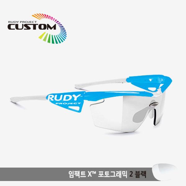 루디프로젝트 RUDY PROJECT/제네틱 커스텀 스카이 레이싱프로/임팩트X 변색렌즈2 블랙/SP117344WT/GENETIC CUSTOM SKY RACING PRO/IMPACT XPHOTOCHROMIC 2 BLK
