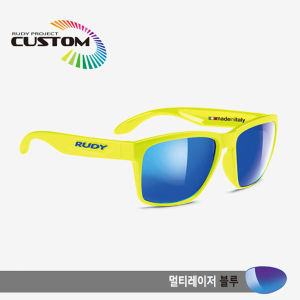 루디프로젝트 RUDY PROJECT/스핀호크 에디션 옐로우플루오/블루/멀티레이저 블루/SP313976T/SPINHAWK EDITION /MULTI LASER BLUE