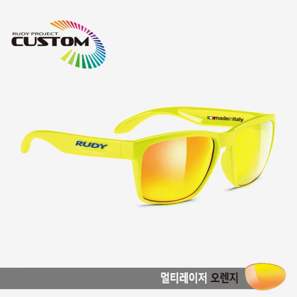 루디프로젝트 RUDY PROJECT/스핀호크 에디션 옐로우플루오/오렌지/멀티레이저 오렌지/SP314076T/SPINHAWK EDITION /MULTI LASER ORANGE