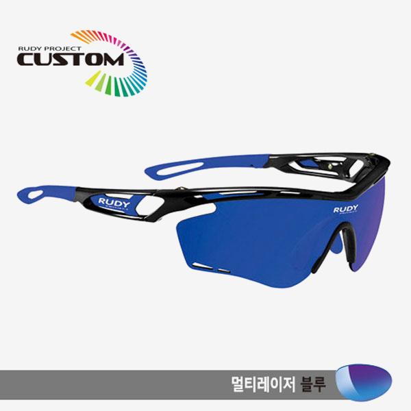 루디프로젝트 RUDY PROJECT/트랠릭스 블랙커스텀/멀티레이저 블루/SP393942BU/TRALYX CUSTOM/MULTI LASER BLUE