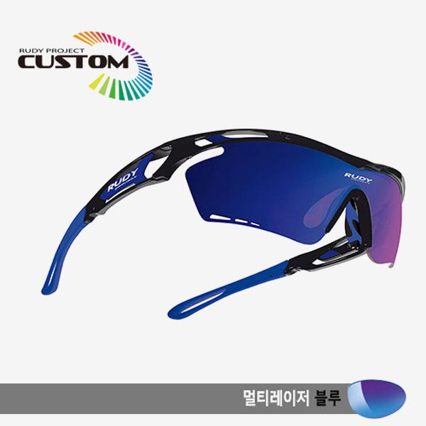 루디프로젝트 RUDY PROJECT/트랠릭스XL 블랙커스텀/멀티레이저 블루/SP393942BUZ/TRALYX XL BLK CUSTOM/MULTI LASER BLUE