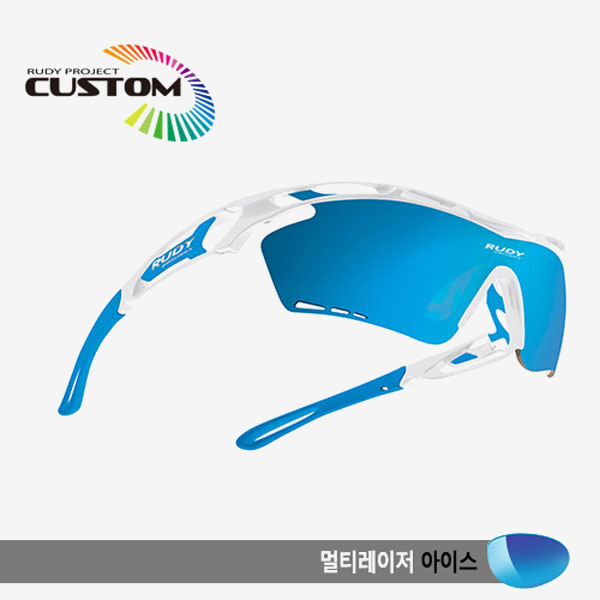 루디프로젝트 RUDY PROJECT/트랠릭스XL 화이트커스텀/멀티레이저 아이스/SP396869SKZ/TRALYX XL WHT CUSTOM/MULTI LASER ICE