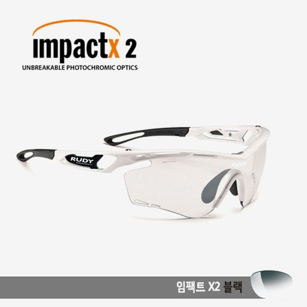 루디프로젝트 RUDY PROJECT/트랠릭스 화이트 글로스/임팩트X 변색렌즈2 블랙/SP397369-0001/TRALYX /IMPACT X PHOTOCHROMIC2 BLACK