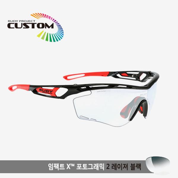 루디프로젝트 RUDY PROJECT/트랠릭스 블랙커스텀/임팩트X변색렌즈2레이저블랙/SP397842RD/TRALYX CUSTOM/IMPACT X PHOTOCHROMIC2 LASER BLK