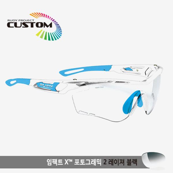 루디프로젝트 RUDY PROJECT/트랠릭스 크리스탈커스텀/임팩트X변색렌즈2레이저블랙/SP397896SK/TRALYX CUSTOM/IMPACT X PHOTOCHROMIC2 LASER BLK