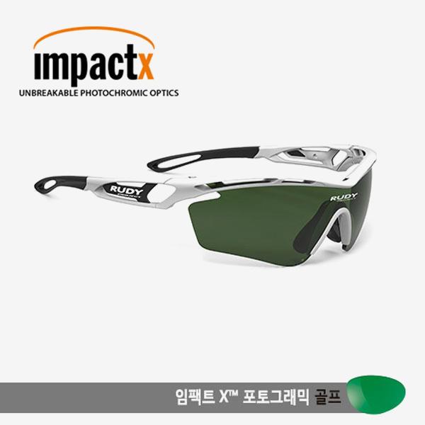 루디프로젝트 RUDY PROJECT/트랠릭스 화이트/임팩트X 변색렌즈2 골프/SP398569G-0001/TRALYX /IMPACT X™ PHOTOCHROMIC 2 GOLF