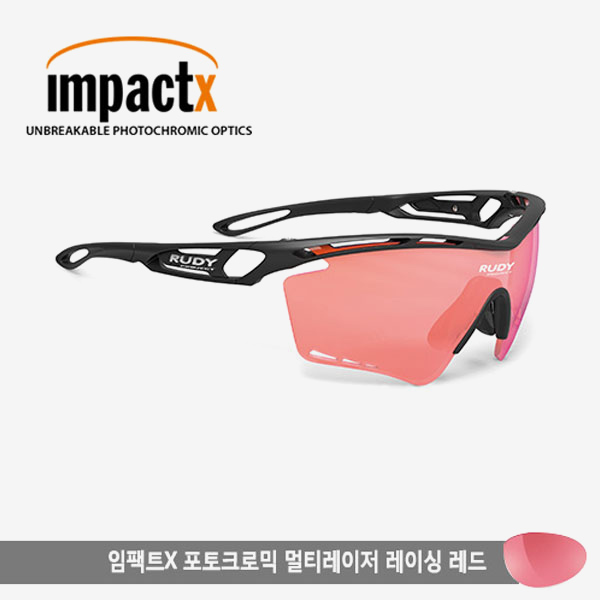 루디프로젝트 RUDY PROJECT/트랠릭스XL 블랙/임팩트X2 변색렌즈 멀티레이저 레이싱 레드/SP398806Z0000/TRALYX XL /IMPACT X PHOTOCHROMIC MULTI LASER RACING RED