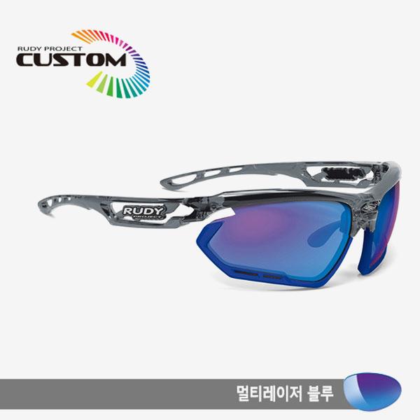 루디프로젝트 RUDY PROJECT/포토닉 커스텀 크리스탈 그라파이트블루 범퍼멀티레이저 블루멀티레이저 블루/SP453995BU/FOTONYK CUSTOM BLUE BUMPER멀티레이저 블루MULTI LASER BLUE