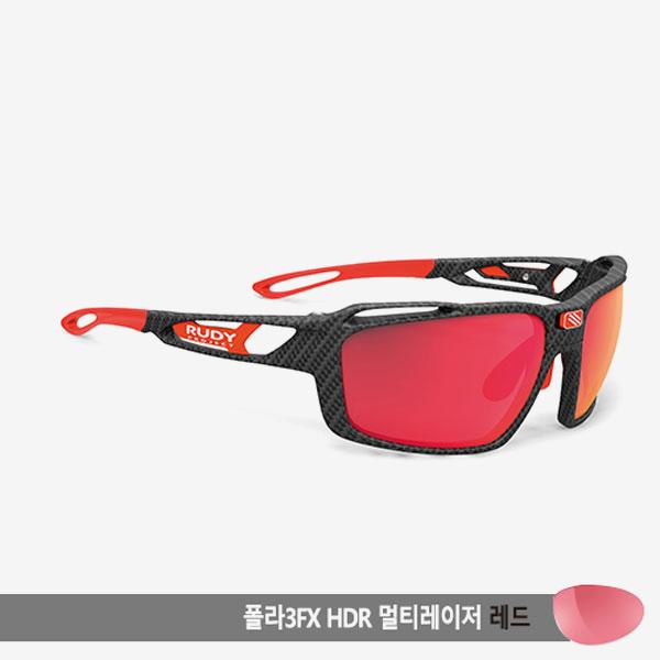 루디프로젝트 RUDY PROJECT/신트릭스 카보니움/폴라 3FX HDR 멀티레이저 레드 편광렌즈/SP496219-0000/SINTRYX /POLARIZED 3FX HDR MULTI LASER RED