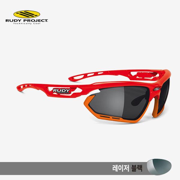 루디프로젝트 RUDY PROJECT/포토닉 커스텀 레드 글로스/레이저 블랙-오렌지 범퍼/sp450917or/FOTONYK CUSTOM RED GLOSS/LASER BLK-ORANGE BUMPER