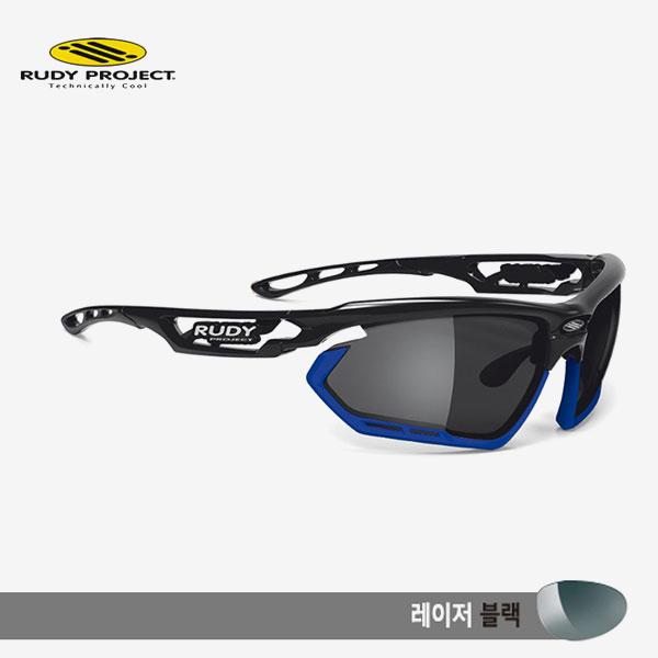 루디프로젝트 RUDY PROJECT/포토닉 커스텀 블랙 글로스/레이저 블랙-블루 범퍼/sp450942bu/FOTONYK CUSTOM BLK GLOSS/LASER BLK-BLUE BUMPER