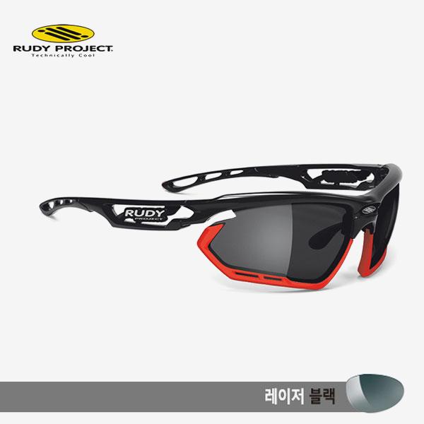 루디프로젝트 RUDY PROJECT/포토닉 커스텀 블랙 글로스/레이저 블랙-레드 범퍼/sp450942rd/FOTONYK CUSTOM BLK GLOSS/LASER BLK-RED BUMPER