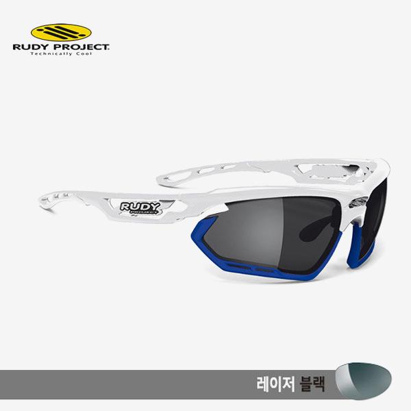 루디프로젝트 RUDY PROJECT/포토닉 커스텀 화이트 글로스/레이저 블랙-블루 범퍼/sp450969bu/FOTONYK CUSTOM WHT GLOSS/LASER BLK-BLUE BUMPER