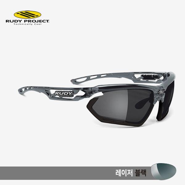 루디프로젝트 RUDY PROJECT/포토닉 커스텀 크리스탈 그라파이트/레이저 블랙-블랙 범퍼/sp450995bk/FOTONYK CUSTOM CRYSTAL GRAPHITE/LASER BLK-BLK BUMPER