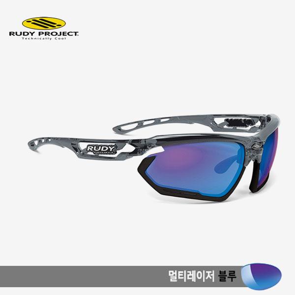 루디프로젝트 RUDY PROJECT/포토닉 커스텀 크리스탈 그라파이트/멀티레이저 블루-블랙 범퍼/sp453995bk/FOTONYK CUSTOM CRYSTAL GRAPHITE/MULTI LASER BLUE-BLK BUMPER