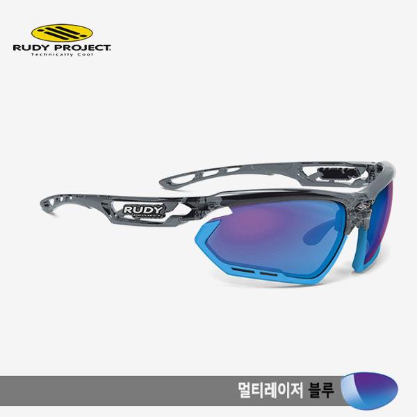 루디프로젝트 RUDY PROJECT/포토닉 커스텀 크리스탈 그라파이트/멀티레이저 블루-스카이 범퍼 /sp453995sk/FOTONYK CUSTOM CRYSTAL GRAPHITE/MULTI LASER BLUE-SKY BUMPER