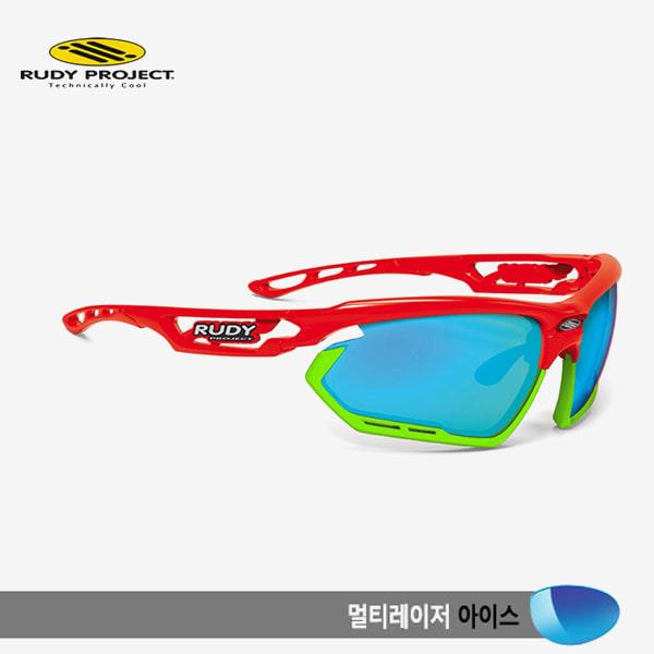 루디프로젝트 RUDY PROJECT/포토닉 커스텀 레드 글로스/멀티레이저 아이스-라임 범퍼/sp456817lm/FOTONYK CUSTOM RED GLOSS/MULTI LASER ICE-LIME BUMPER