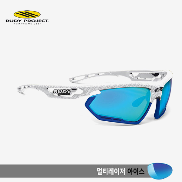 루디프로젝트 RUDY PROJECT/포토닉 커스텀 화이트 카보니움/멀티레이저 아이스-블루 범퍼 /sp456821bu/FOTONYK CUSTOM WHT CARBONIUM/MULTI LASER ICE-BLUE BUMPER