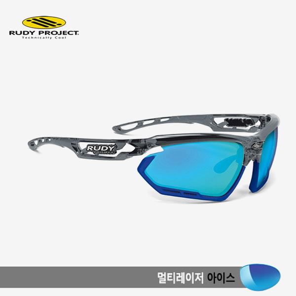루디프로젝트 RUDY PROJECT/포토닉 커스텀 크리스탈 그라파이트/멀티레이저 아이스-블루 범퍼 /sp456895bu/FOTONYK CUSTOM CRYSTAL GRAPHITE/MULTI LASER ICE-BLUE BUMPER