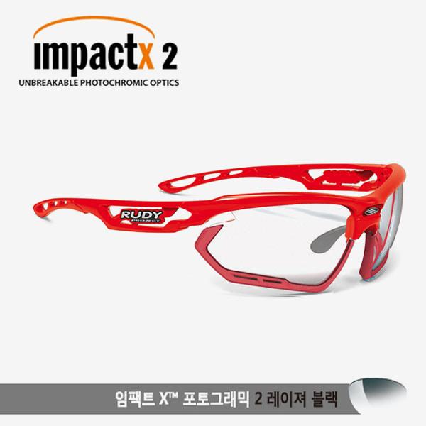 루디프로젝트 RUDY PROJECT/포토닉 커스텀 레드 글로스/임팩트X2 레이저블랙 미러변색렌즈-레드 범퍼 /sp457817rd/FOTONYK CUSTOM RED GLOSS/IMPACT X PHOTOCHROMIC2 LASER BLACK-RED BUMPER