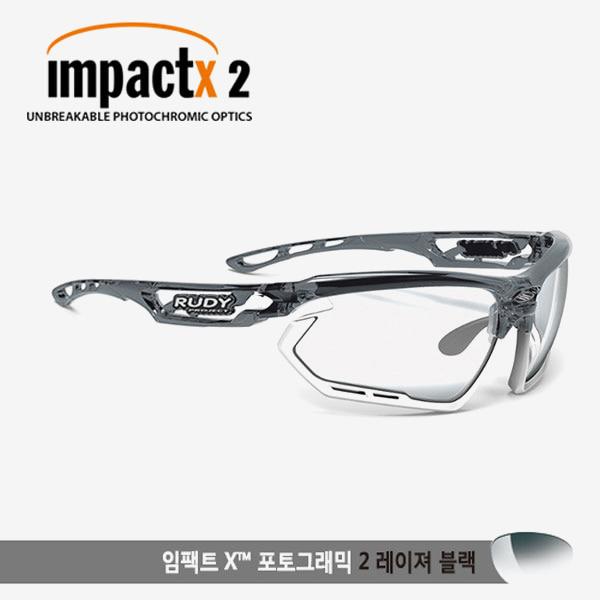 루디프로젝트 RUDY PROJECT/포토닉 커스텀 크리스탈 그라파이트/임팩트X2 레이저블랙 미러변색렌즈-화이트 범퍼 /sp457895wt/FOTONYK CUSTOM CRYSTAL GRAPHITE/IMPACT X PHOTOCHROMIC2 LASER BLACK-WHT BUMPER